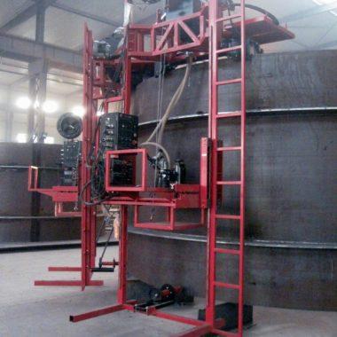 AGW Stiffener Welder