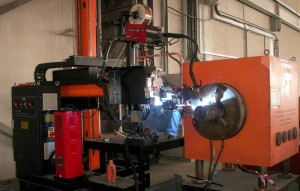 Tank Welding - Automatic Pipe Welder 006
