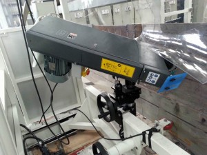 Tank Welding - Automatic weld grinder 004