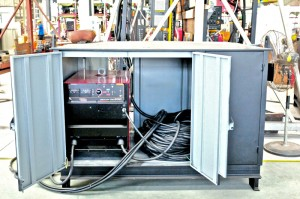 Tank Welding - DC 600 power source cabinet
