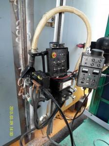 Tank Welding - EGW inside view welding system 0030