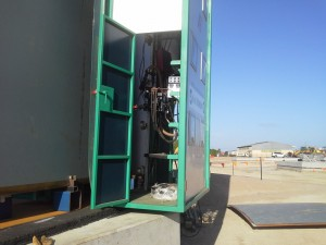 Tank Welding - EGW side door 0019