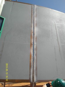 Tank Welding - EGW single pass weld NR431 seam (2.4) 0035