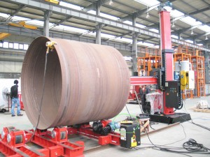 Tank Welding - Turning Roll 006