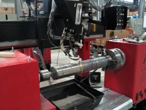 Tank Welding - Welding Lathe 004